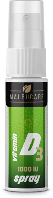 Malbucare D3 Vitamin spray 15 ml
